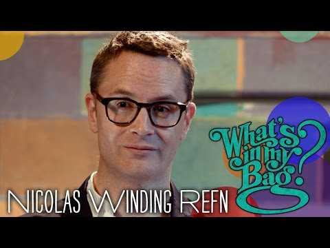 Nicolas Winding Refn  What's In My Bag?