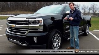 review 2016 chevrolet silverado high country
