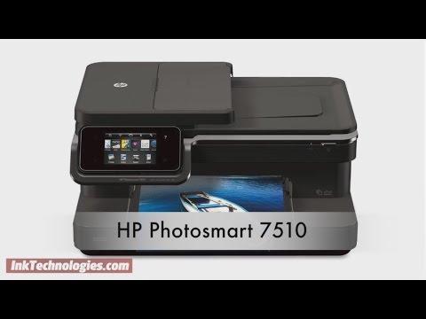 Hp Photosmart 7510 Instructional Video Youtube