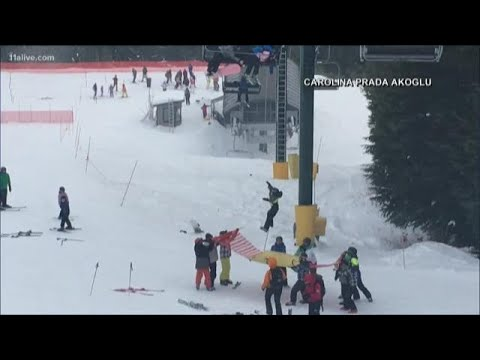 Big Mike - Quick Thinking Teens Help to Save a Boy From Ski Lift.