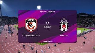PES 2020   Gaziantep vs Besiktas - Turkey Super Lig   14 September 2019   Full Gameplay HD