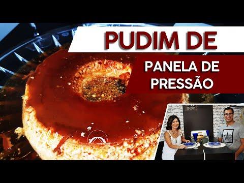 RECEITA FÁCIL DE PUDIM DE LEITE CONDENSADO DE PANELA DE PRESSÃO #MU