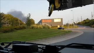 E1 renfort incendie Tournai