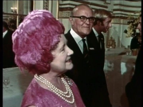 Olympic Reception at Buckingham Palace, 1968