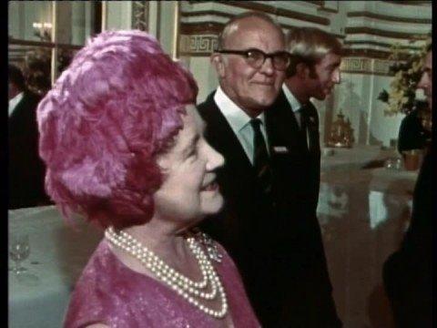 Olympic Reception at Buckingham Palace, 1968