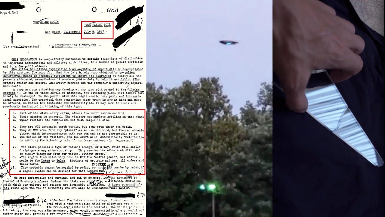 """El FBI confirma Memorandum """"ALIENS GIGANTES"""" el Cristal Ruso y Nueva Jersey"""