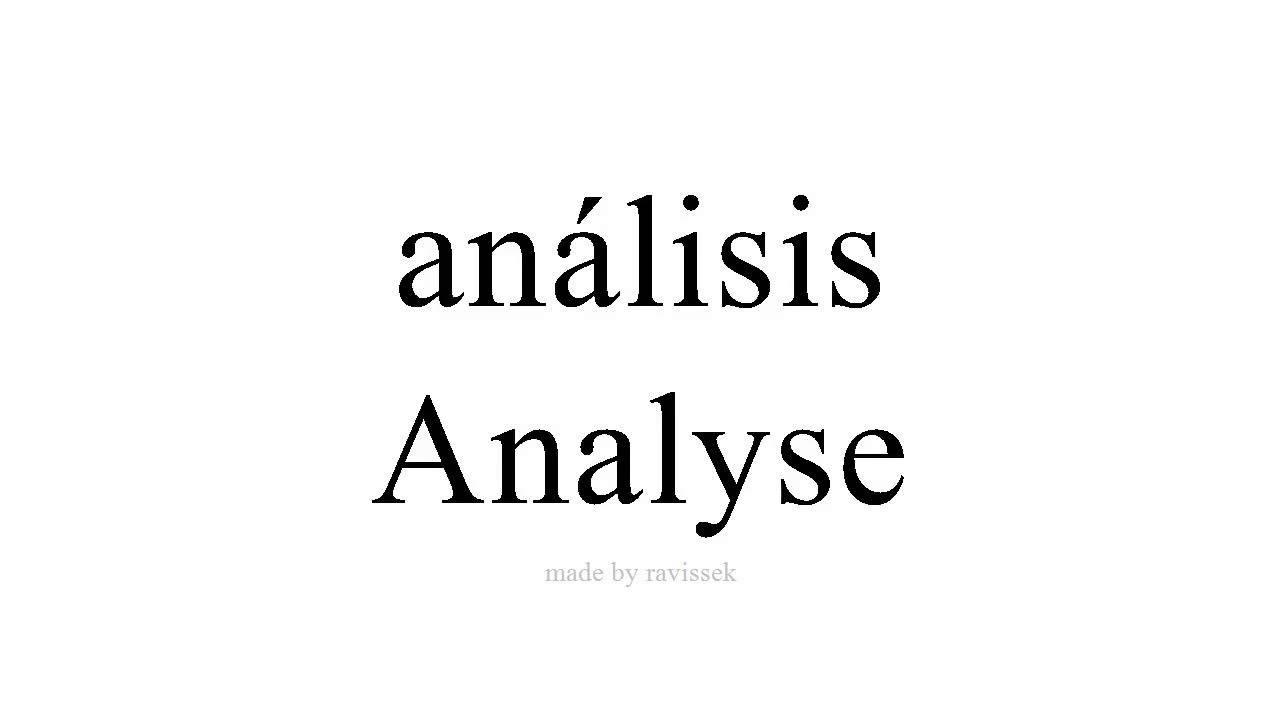 Spanisch Lernen Analyse Youtube