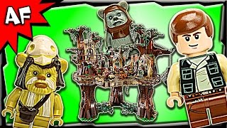 Lego Star Wars EWOK VILLAGE UCS 10236 Stop Motion Build Review