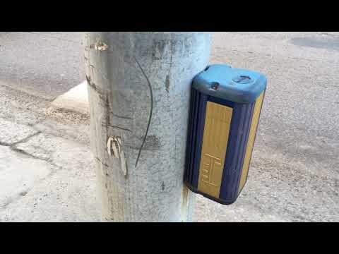 Audible crosswalk signal in Helsinki