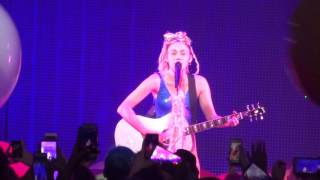 Miley Cyrus - You Are My Sunshine - Live at The Fillmore in Detroit, MI on 11-21-15