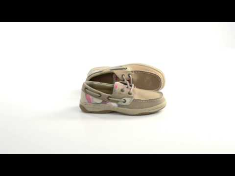 Sperry Top-Sider Bluefish Boat Shoes - Nubuck (For Kids)