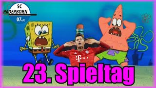 Bundesliga 23. Spieltag portrayed by Spongebob [Deutsch/German]