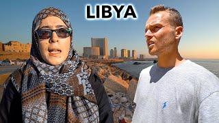 15 Hours Inside Libya (met local girl)