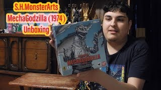 S.H.MonsterArts MechaGodzilla (1974) Unboxing