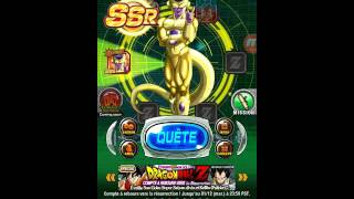 Dragon Ball z dokkan battle golden freezer tuto