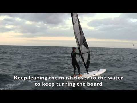 How to Windsurf 101   How to Gybe in Windsurfing