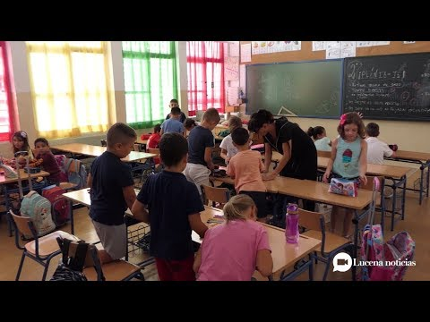Vídeo: Más de 4400 escolares inician un nuevo curso escolar en Lucena