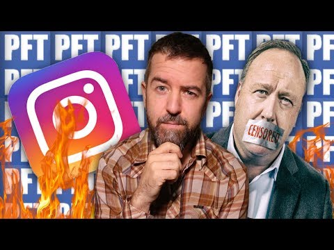 Pathetic!!! Instagram Pulls ANTI-SEMITIC Card on Alex Jones For Mear One Post!