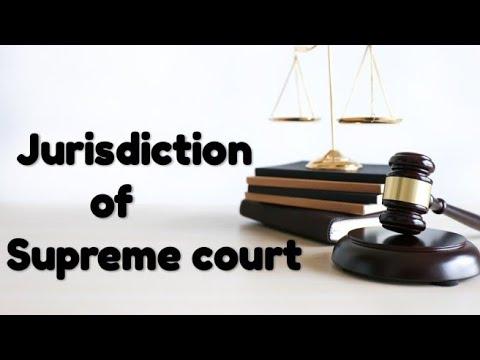 Jurisdiction of supreme court