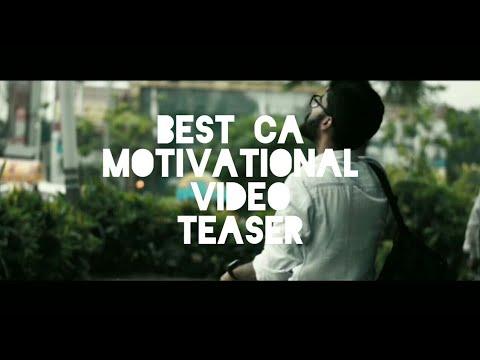 Teaser- I am a Chartered Accountant   Best Motivational Video  