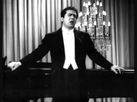 Giuseppe di Stefano. Canta pe´me. De Curtis.