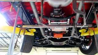 57 Chevy Lenny Exhaust Build