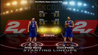 NBA 2K12 Hidden Team (Kids) 1080 gameplay: Recorded by AVerMedia Game Capture HD