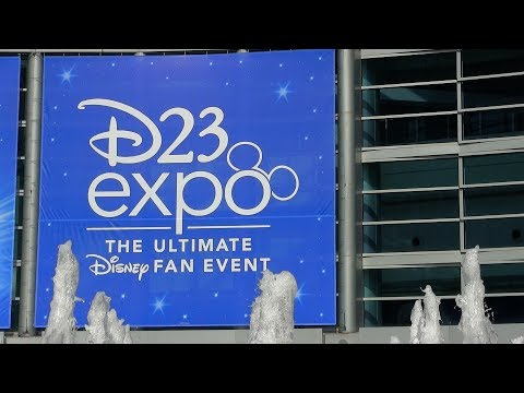 2017 D23 Expo complete show floor tour - Marvel, Pixar, Interactive, Consumer Products, Emporium