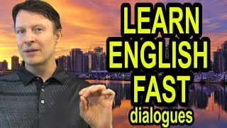 How to Learn English Fast  | Asking for a favor | American Dialogues | English with Steve Ford