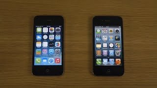 Download lagu iPhone 4 iOS 7 0 4 Jailbroken vs iPhone 4 iOS 6 1 Which Is Faster MP3