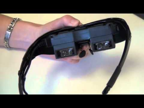483497ea2 Vuzix Wrap 1200 Unboxing - YouTube