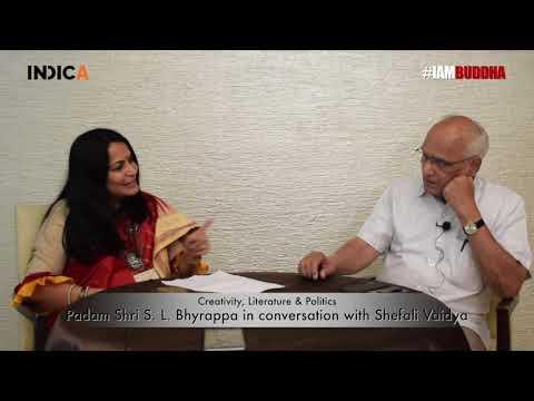 Kannada Novelist Padma Shri Dr. SL Bhyarappa in conversation with Columnist & Writer Shefali Vaidya