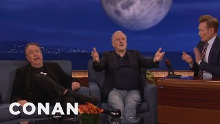 John Cleese and Eric Idle's Secrets To A Perfect Marriage  - CONAN on TBS