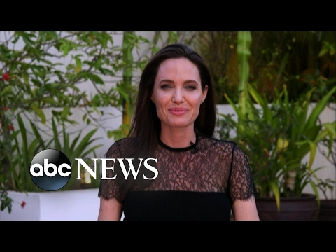 Angelina Jolie speaks out on new film, family