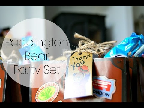 PARTY BAGS AND SUPPLIES  | PADDINGTON BEAR
