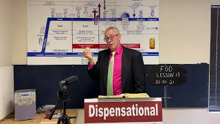 Fundamentals of Dispensationalism Lesson 13