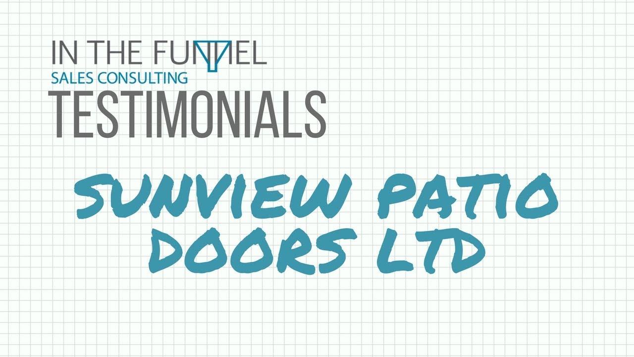 ITF Testimonials   Sunview Patio Doors