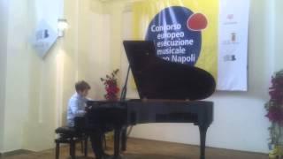 CONCORSO EUROPEO DI ESECUZIONE MUSICALE JACOPO NAPOLI EDIZIONE 2013