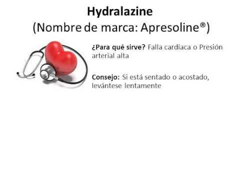 Hydralazine - Spanish