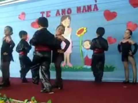 Vestido de tango nena