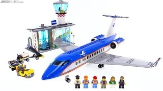 LEGO City Airport Passenger Terminal review! 60104