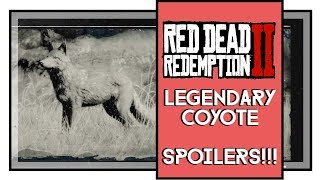 Red Dead Redemption 2 Legendary Coyote Location [SPOILERS]