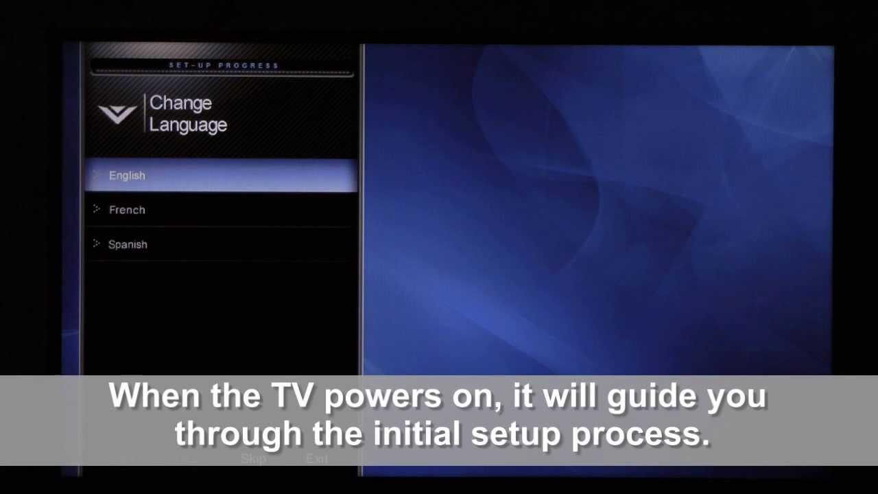 Reset your VIZIO VIA HDTV