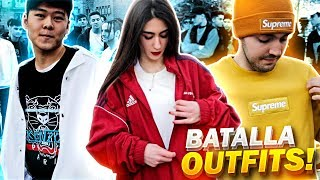 BATALLA DE OUTFITS CON SUSCRIPTORES 3!! (Supreme Box Logo, Off White, Gucci, Palace, Versace...)