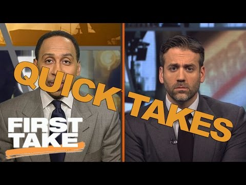 Quick Takes On Paul George, LeGarrette Blount And Mike Brown | First Take | May 17, 2017
