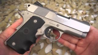 Colt 1911 Lightweight 45ACP Defender 1911 Pistol Overview - Texas Gun Blog