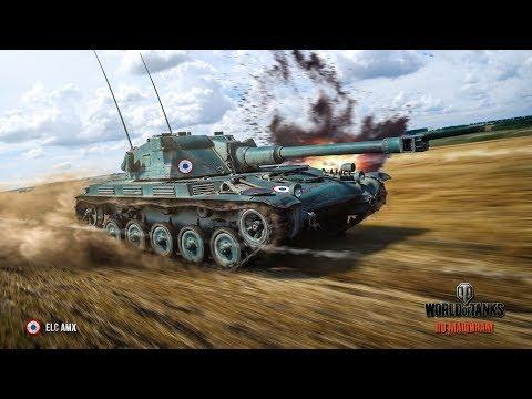 Wot I ELC AMX I Прокачка ветки колёсников