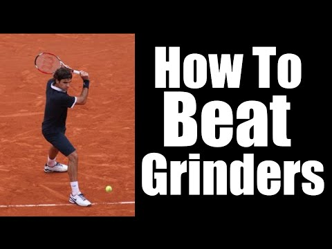 Tennis Strategy | How To Beat Grinders | Federer Style