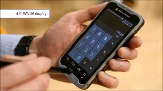 Motorola TC55 Introduction mobile computer scanner barcode scanner