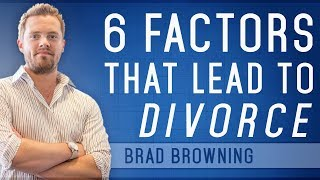 http://www.MarriageGuy.com/ -- 6 Factors That Lead To Divorce How's...